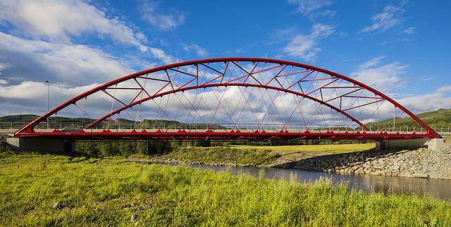 Forra Bridge, Stjørdal, Norway