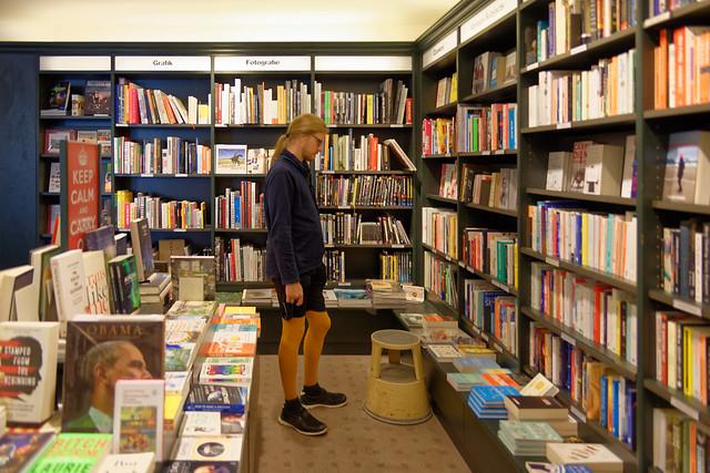 In der Buchhandlung