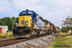 CSX 839 | EMD SD40-2 | CSX Memphis Subdivision