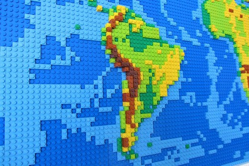 dirks LEGO world map 7 south america