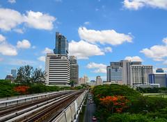 Modern buildings in Bangkok, Thailand