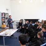 Daniel Gray leads writing workshop for schools | © Brian Craig