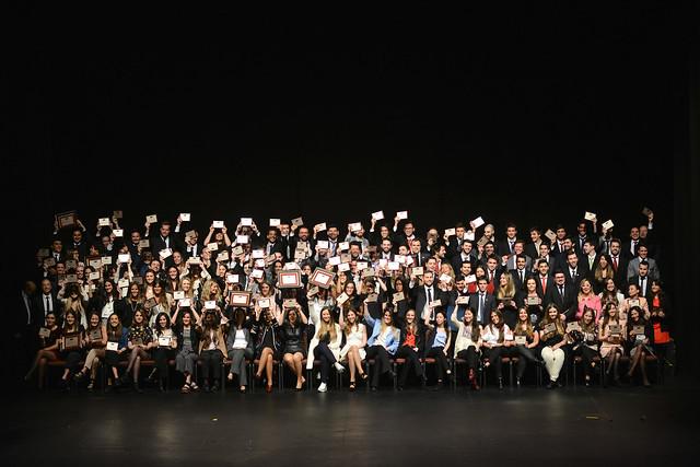 Ceremonia de graduación de la Universidad ORT Uruguay - agosto 2017