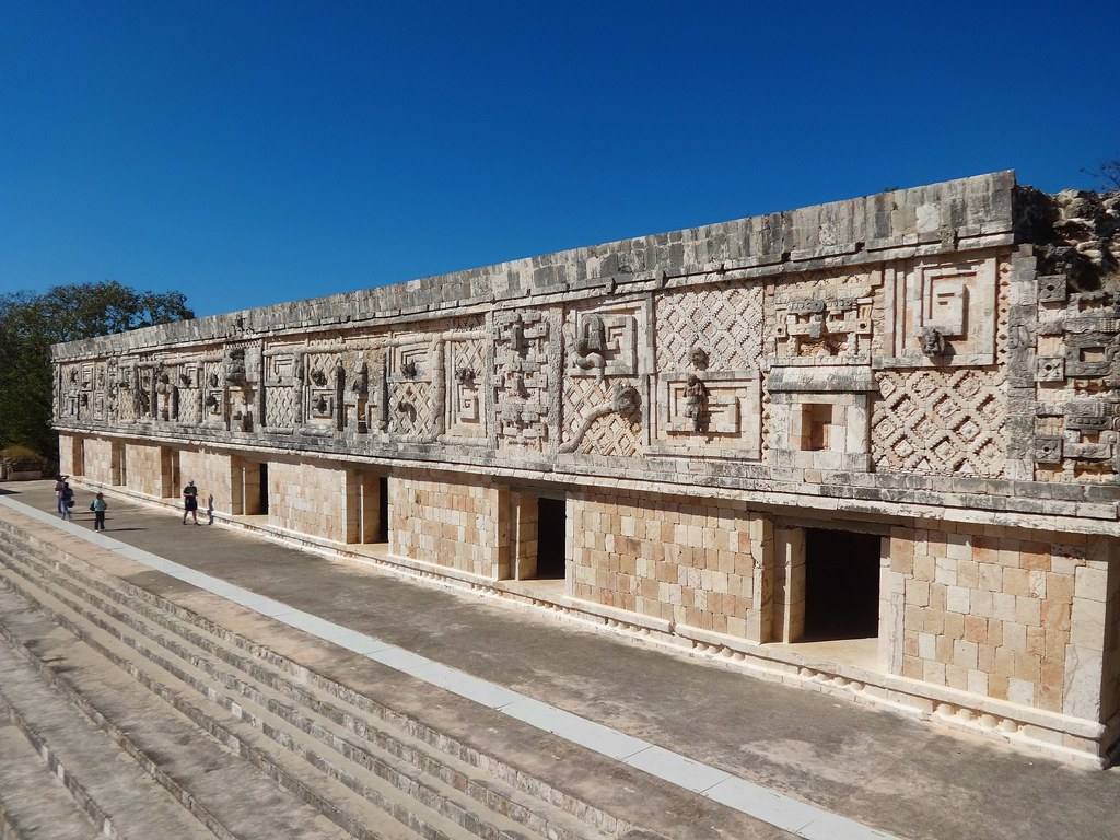 Czworokąt Mniszek Uxmal, Meksyk