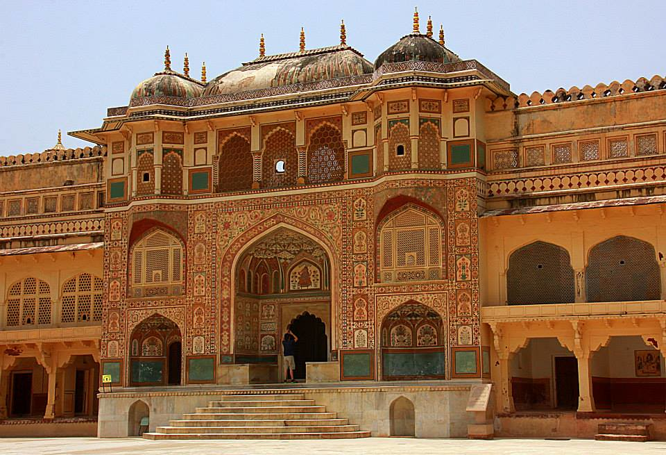 Amer Fort in Jaipur photo blog