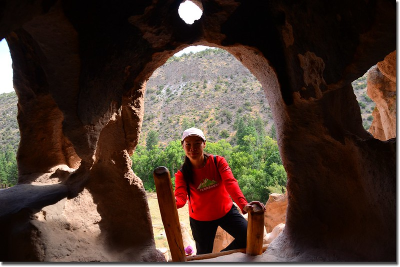 Cliff Dwellings at the Bandelier National Monument (7)