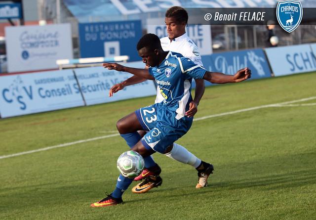 Foot Ligue 2 - Chamois Niortais FC - AJ Auxerre (11/08/2017)