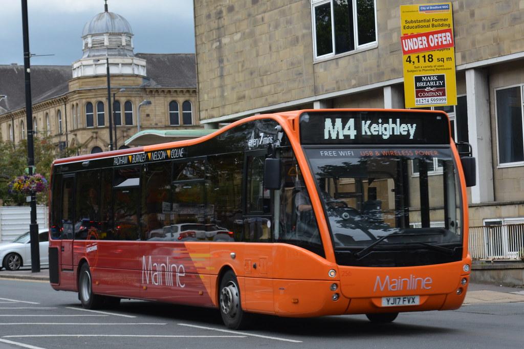 0256 YJ17 FVX Transdev Mainline: The Burnley Bus Company