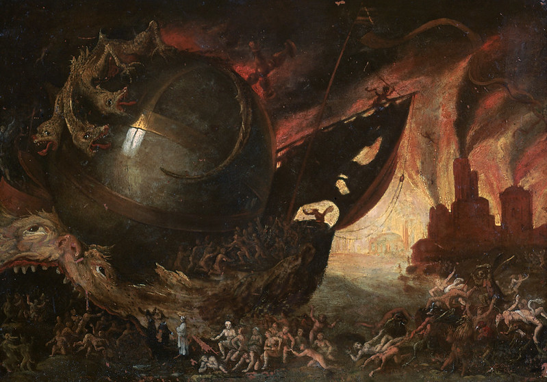 Jacob Isaacsz van Swanenburg - The Crossing of the Styx, 1591-1638
