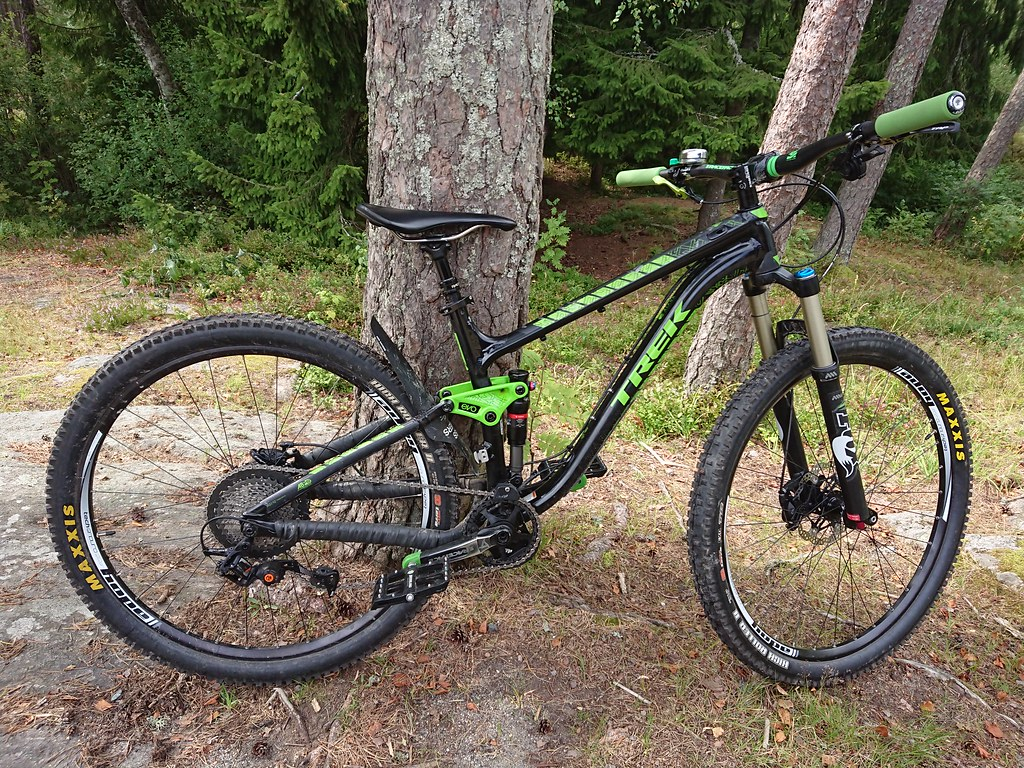 Upgraded 2014 Trek fuel ex 7 29er Skanshytta tur 15.08.2017_0414
