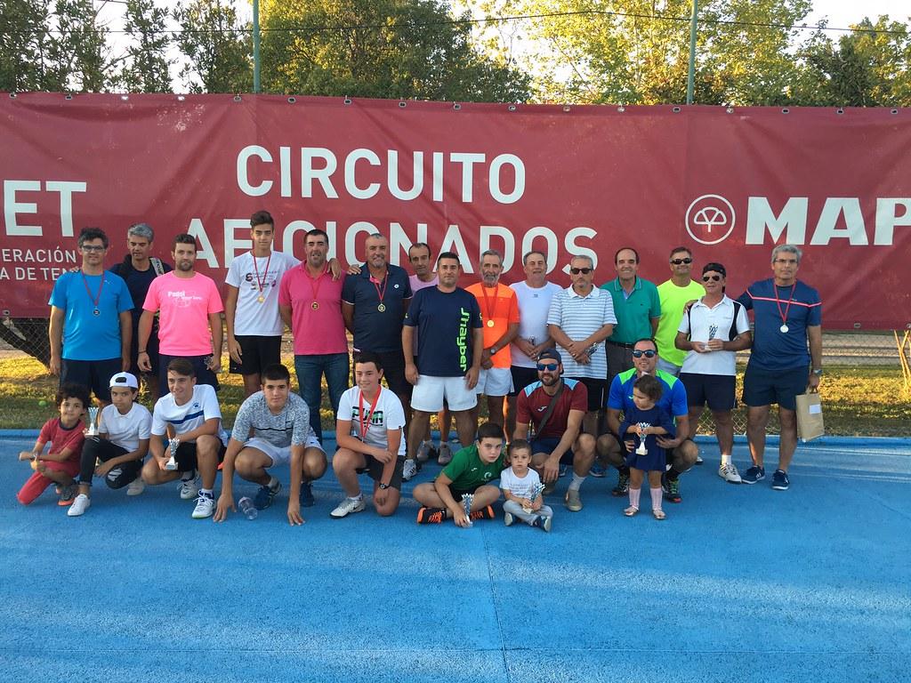 Clausurado el Torneo del Circuito de Aficionados de la Real Federación Española de Tenis Ciudad de Coria