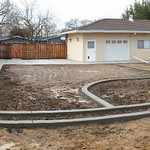 All New Backyard Concrete In Woodland