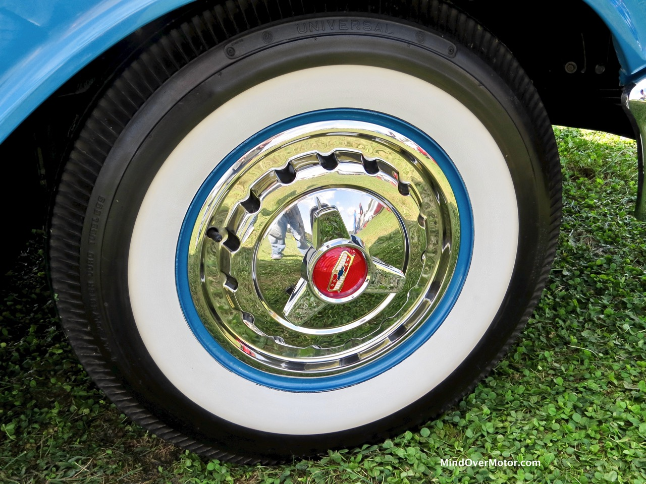 1957 Chevrolet Bel Air Convertible Wheel