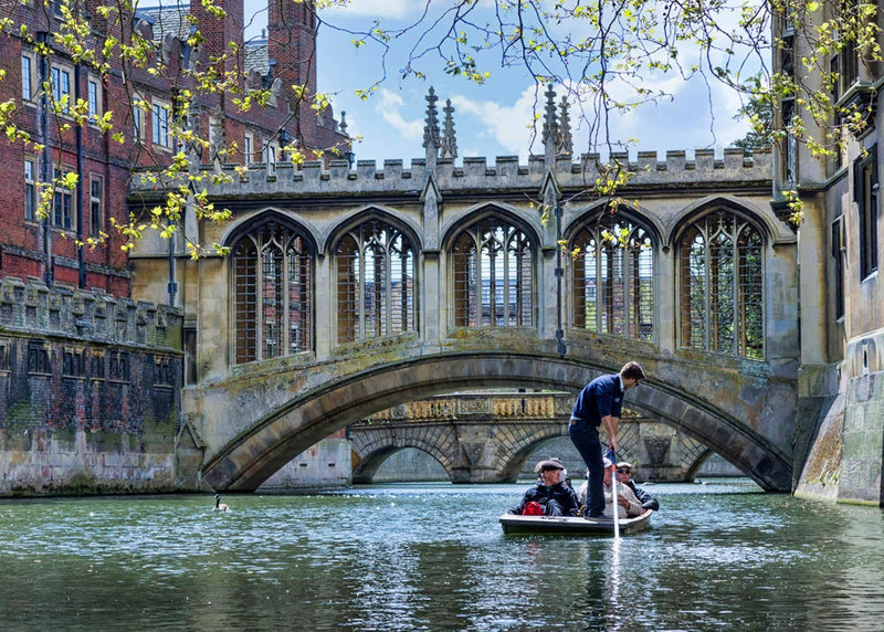 Bridge of Sighs, Cambridge. Credit Jean-Christophe Benoist