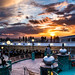 Kitsch sunset on a cruise ship in the Baltic Sea by Phototravelography