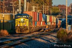 CSX 657 | GE AC6000CW | BNSF Thayer South Subdivision