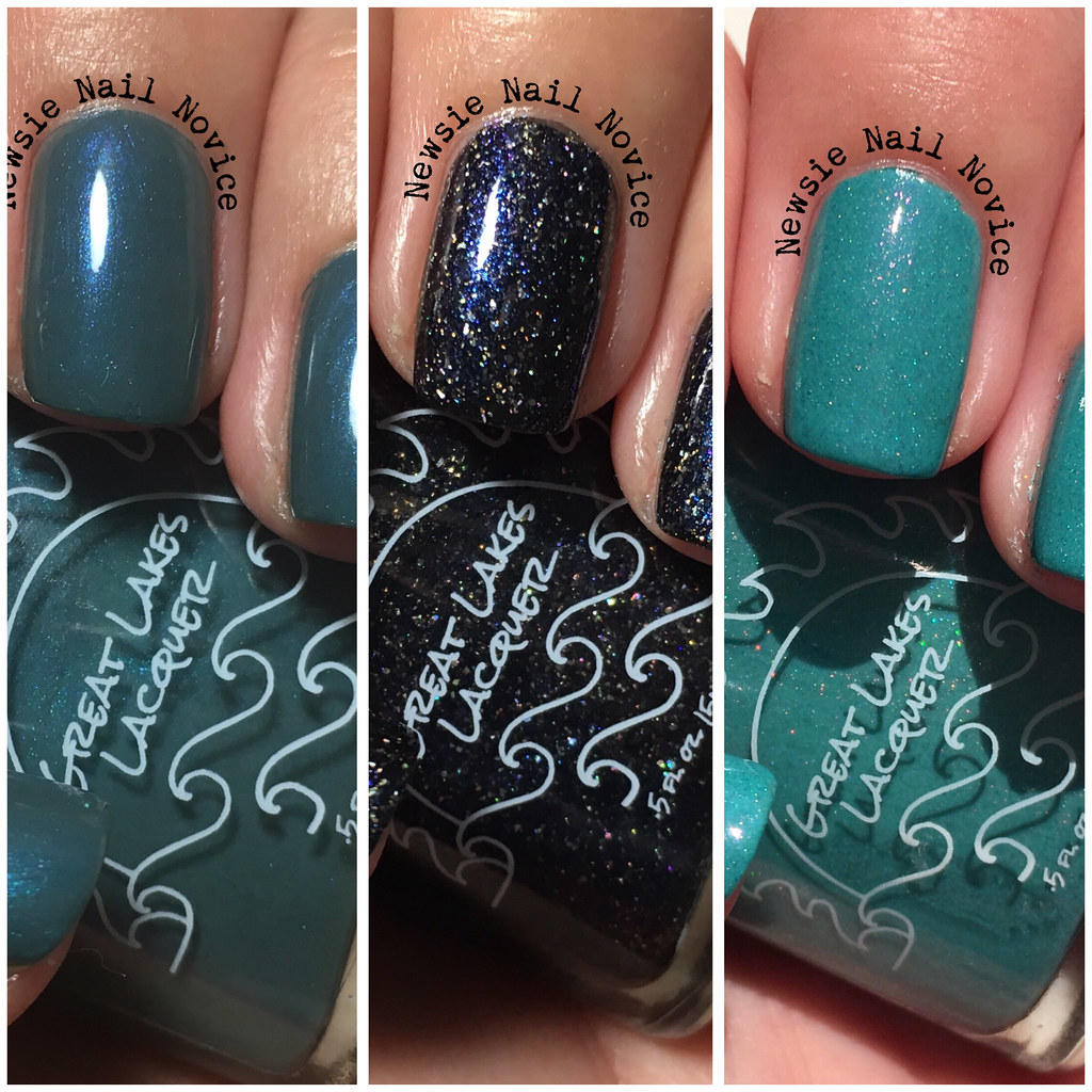 Great Lakes Lacquer August LE polishes