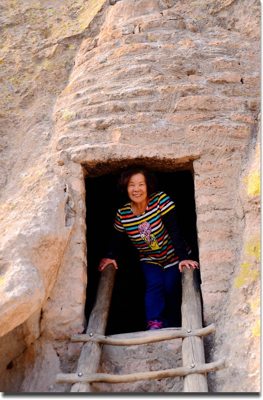 Cliff Dwellings at the Bandelier National Monument (9)