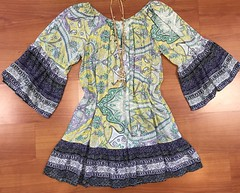 22. 3418 Paisley Dress 42.95