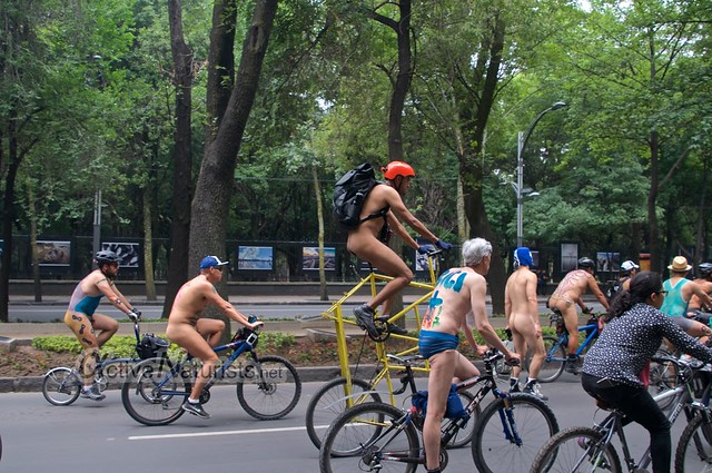 naturist 0023 WNBR World Naked Bike Ride, Mexico