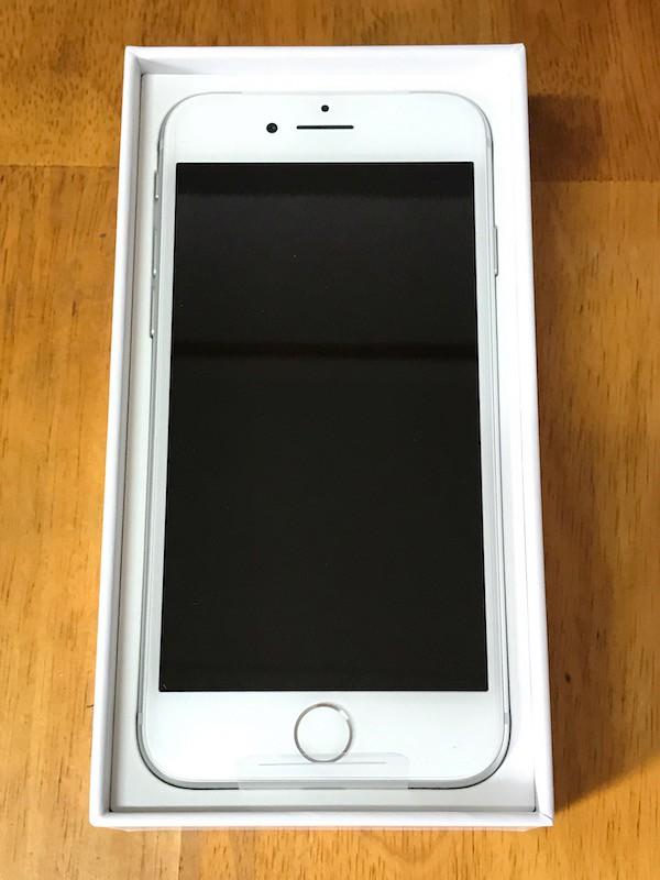 iPhone8シルバー