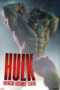 看什麼看?!打爆你喔!!Sideshow Collectibles Avengers Assemble 系列【浩克】Hulk 1/5 比例全身雕像作品