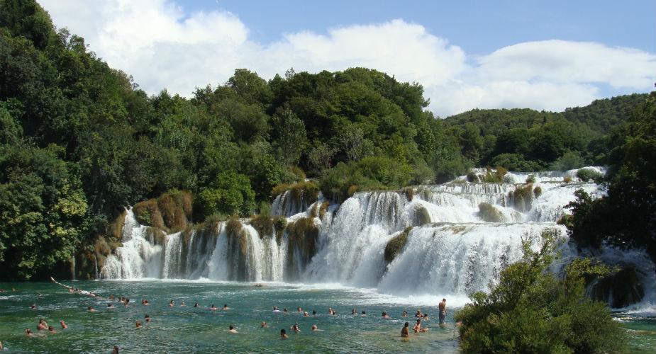 Krka national park vanuit Split, Kroatië | Mooistestedentrips