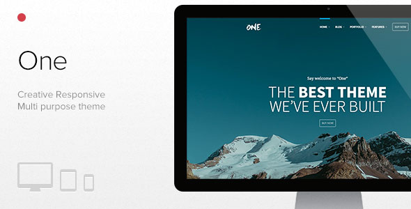 One v1.7.6 – The Creative Multipurpose Portfolio theme
