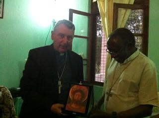 Visita a Tabora (Tanzania) di Monsignor Giusti