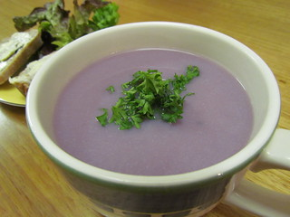 Purple Cauliflower Soup