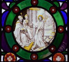 John the Baptist before King Herod and Queen Herodias
