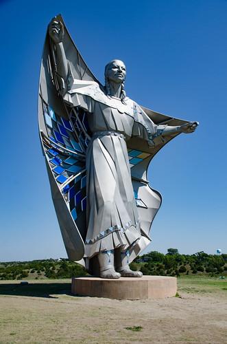 Sakajawea Statue-002