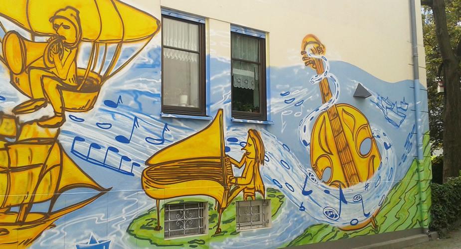 Street art in Dresden: Neustadt | Mooistestedentrips.nl