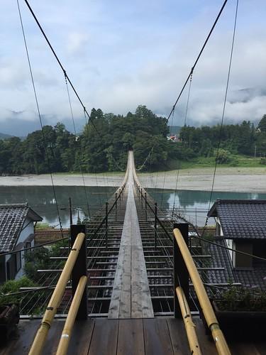 塩郷の吊橋(大井川)