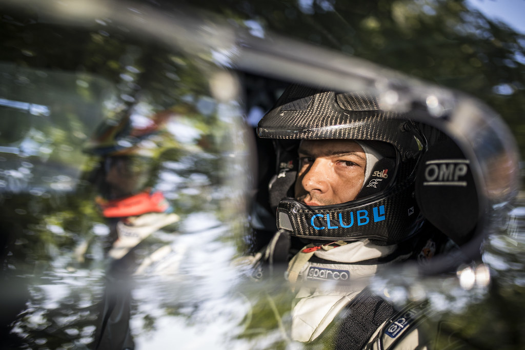MAGALHAES Bruno (PRT)  MAGALHAES Hugo (PRT) Skoda Fabia R5 ambiance portrait during the 2017 European Rally Championship ERC Barum rally,  from August 25 to 27, at Zlin, Czech Republic - Photo Gregory Lenormand / DPPI
