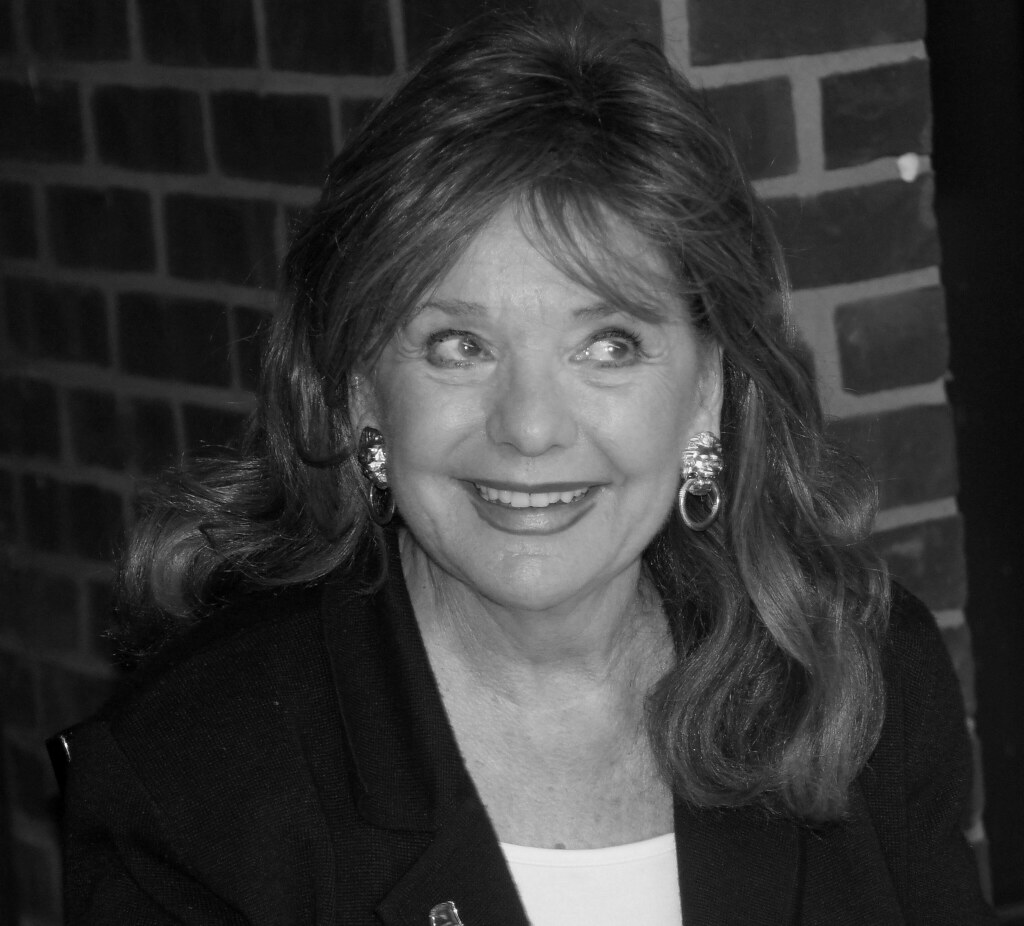 Dawn Wells so cute I put her up in B n W as well.