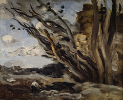 Camille Jean Baptiste Corot - The Blast at Nationalmuseum Stockholm Sweden
