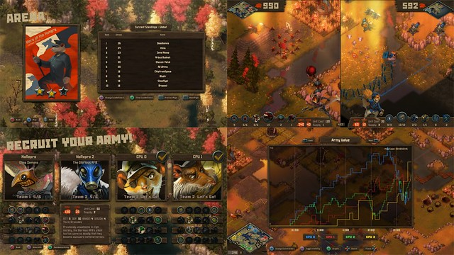 Tooth and Tail – MP features