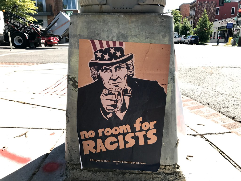 No room for racists