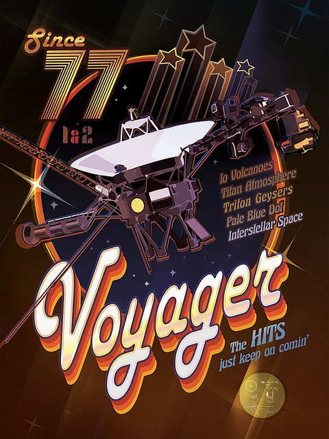 Voyager Space Probe Survives From the Age of Disco