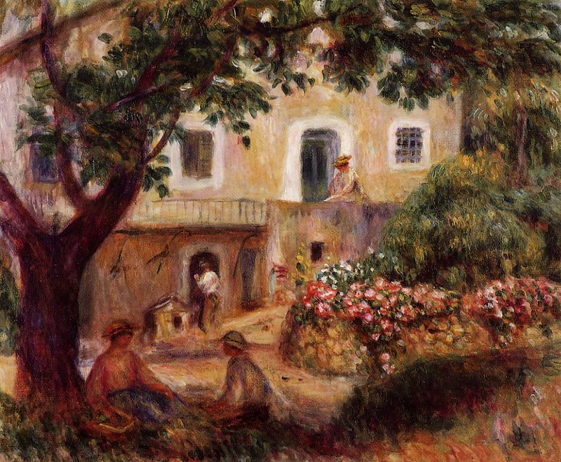 The Farm by Pierre Auguste Renoir, 1914