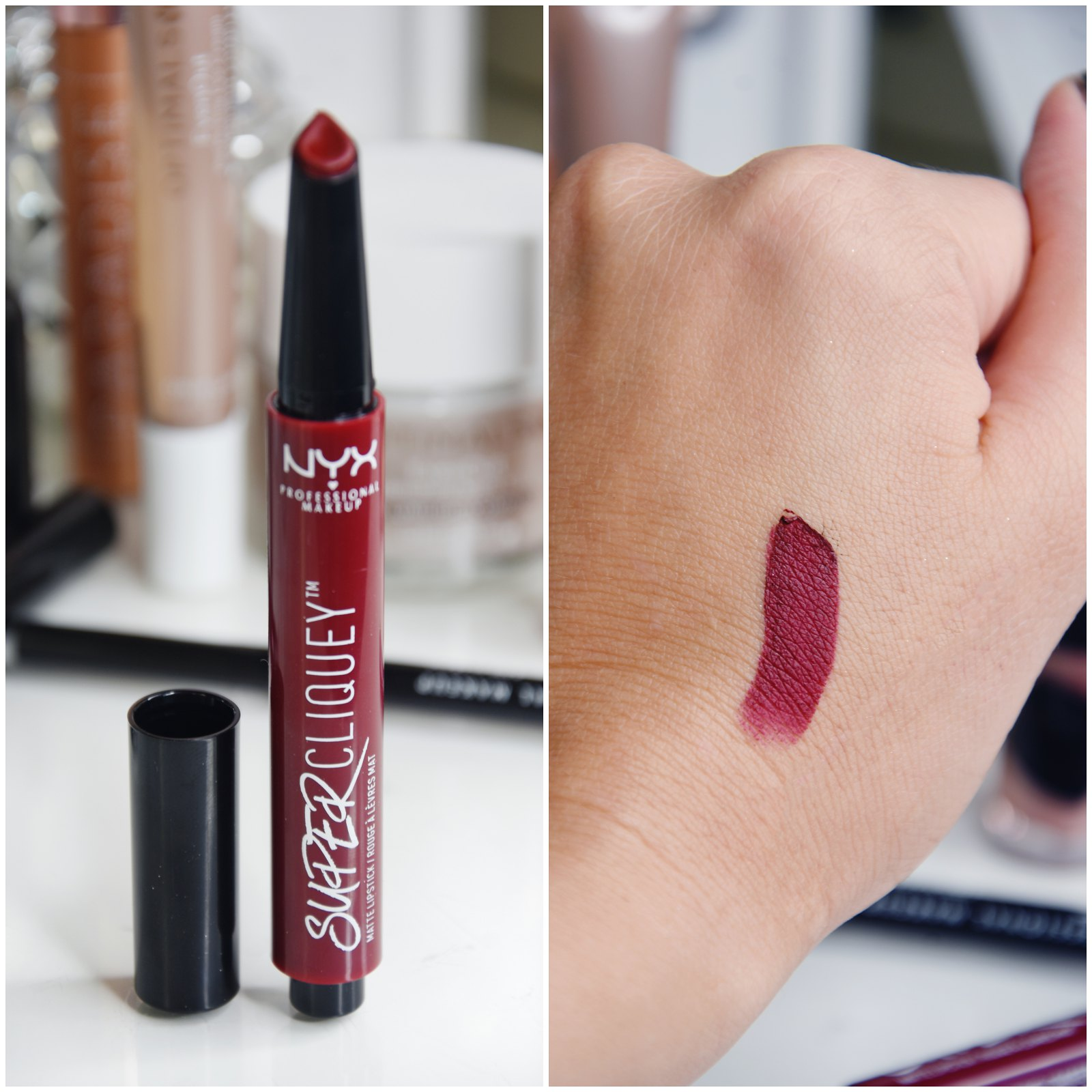NYX Super Cliquey lipstick review