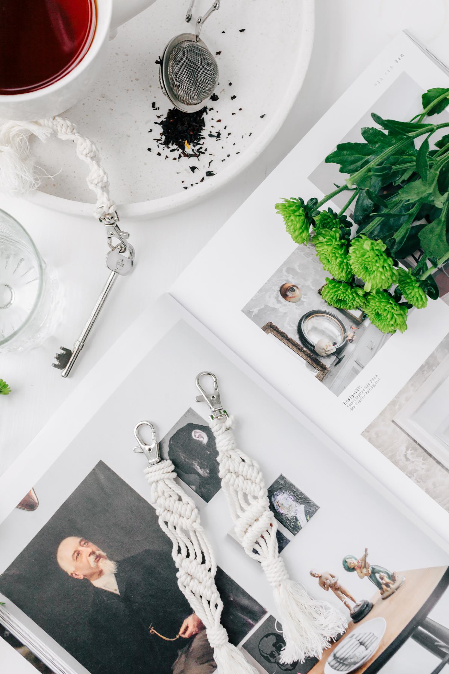 DIY  Nyckelringar i makramé – Emilia Westerstrom b6cbef5439c1e