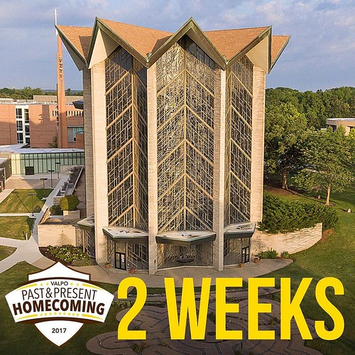 Who's ready to come home to this beautiful campus in TWO WEEKS? Immerse yourself in Homecoming events and a proper welcome back by visiting http://ift.tt/2wfn2dC to sign up! #ValpoHome17