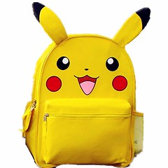 Pikachu Face with Ears Backpack in more sizes