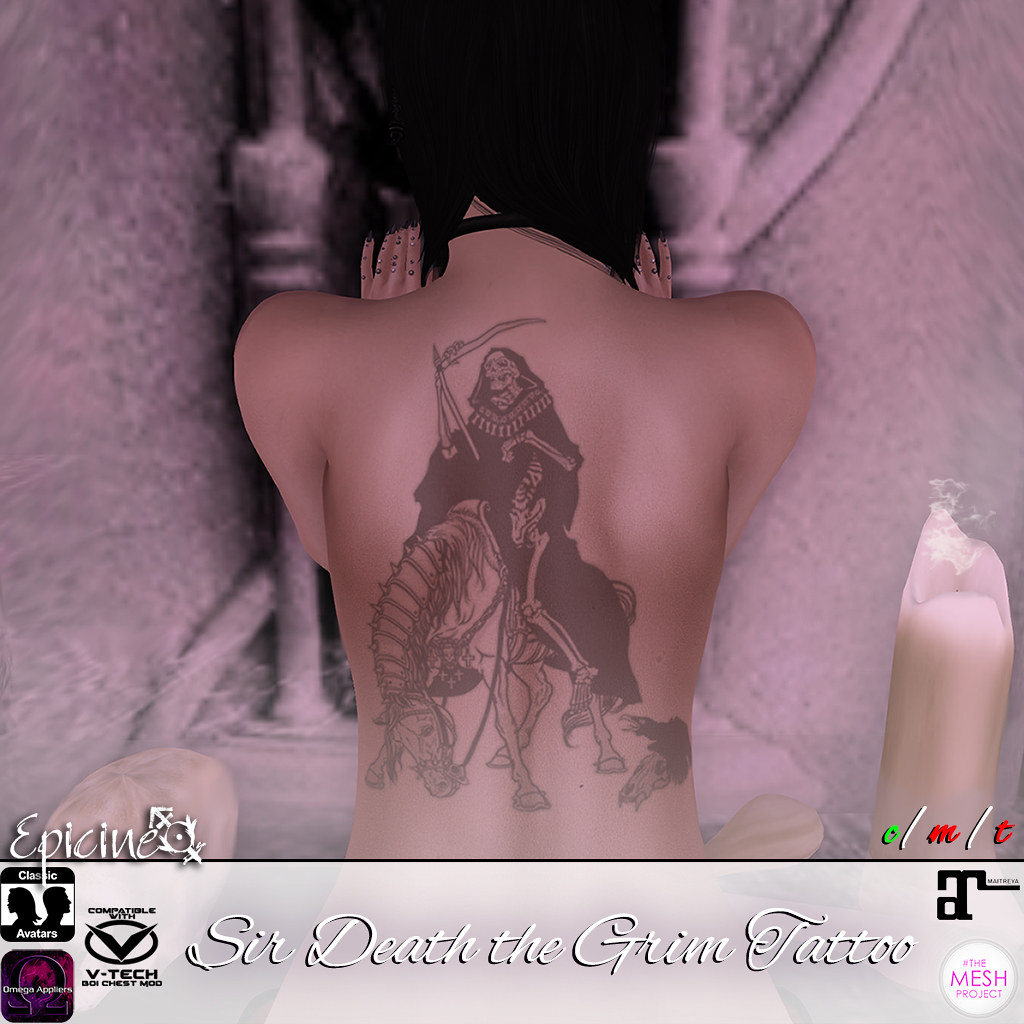 Epicine - Sir Death the Grim Tattoo - SecondLifeHub.com
