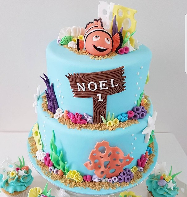 Finding Nemo Cake by Oh Cookies