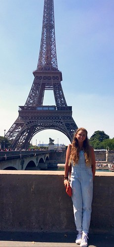 Visiting Paris during my semester in Reims, France. Mariah Robinson: #StudyAbroadBecause You Build Your True Self
