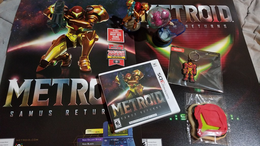 My Metroid Goodies!