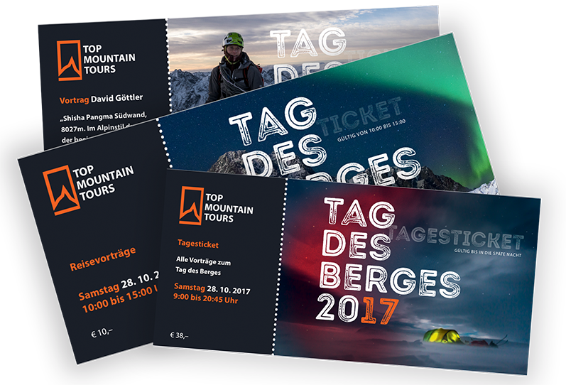 TAG DES BERGES Tickets